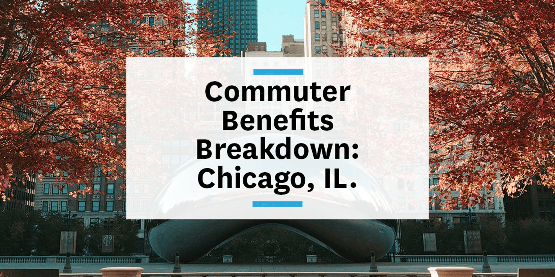 Feature images for commuter benefits Chicago