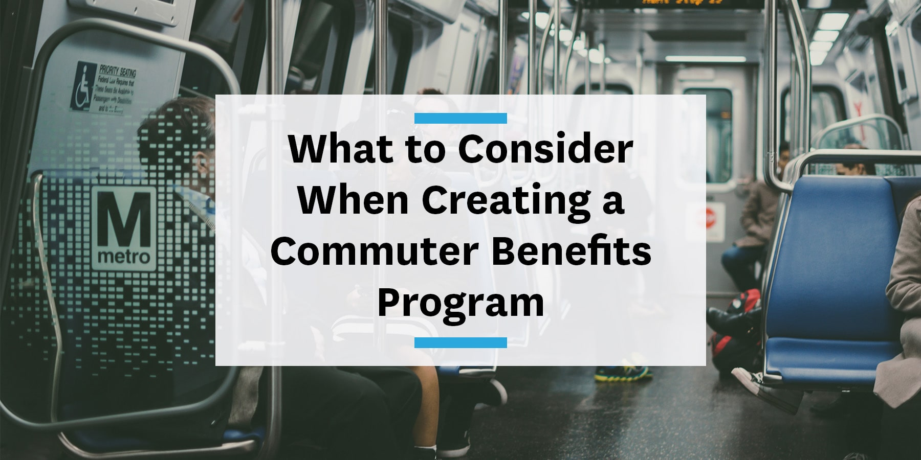 Feature image for considerations while creating a commuter benefits program