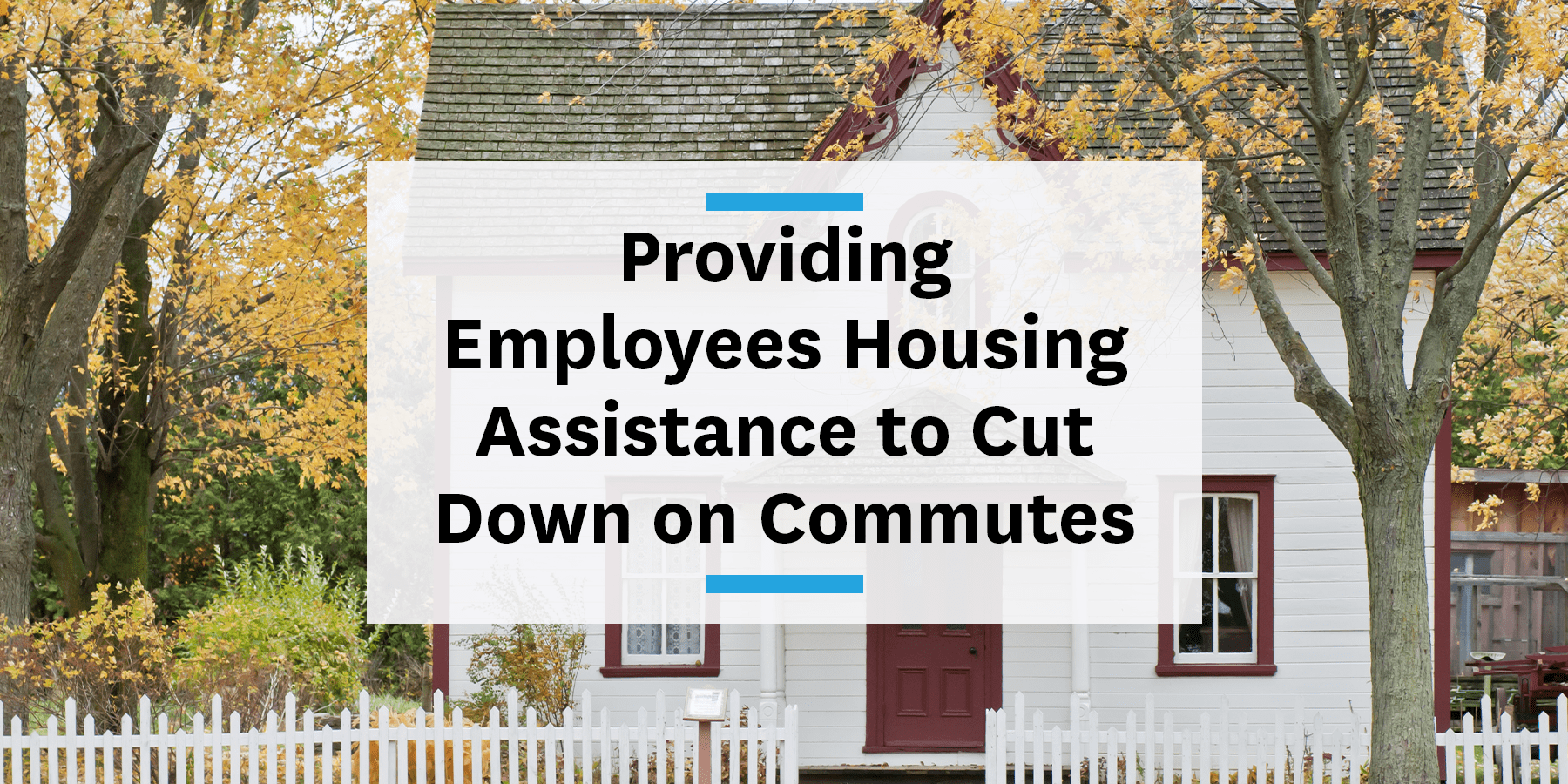 Feature images for providing employees housing assistance