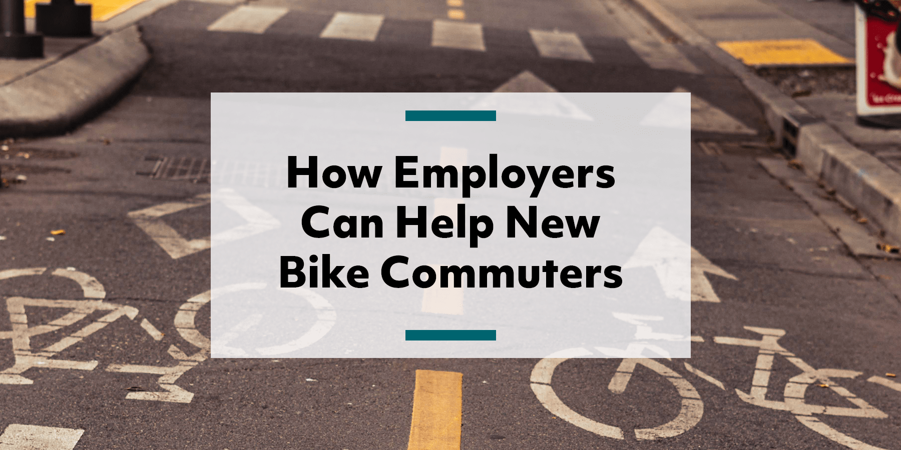 Feature image for helping employees with new bike commutes