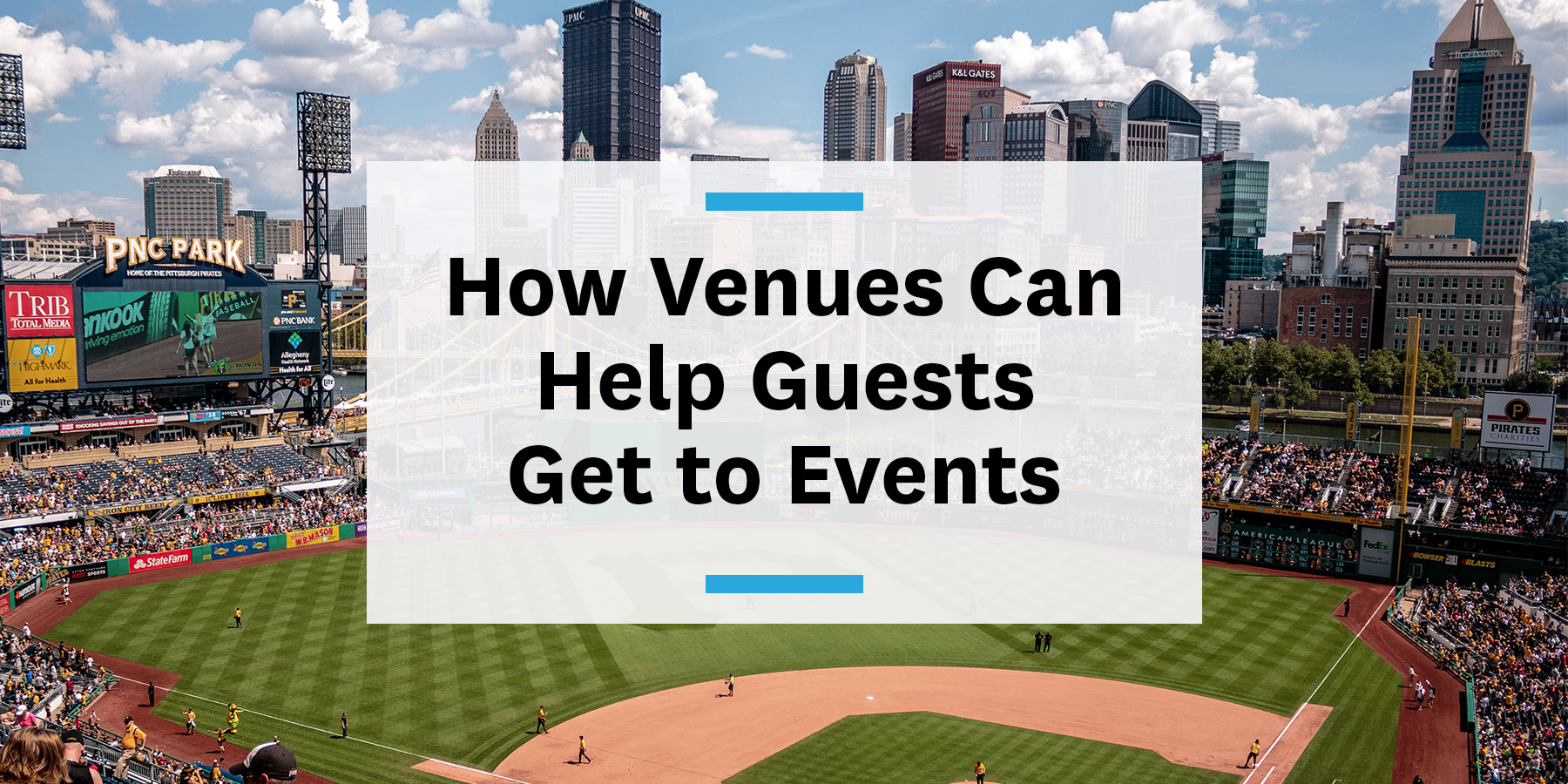 Feature image for how venues can help get guests to events