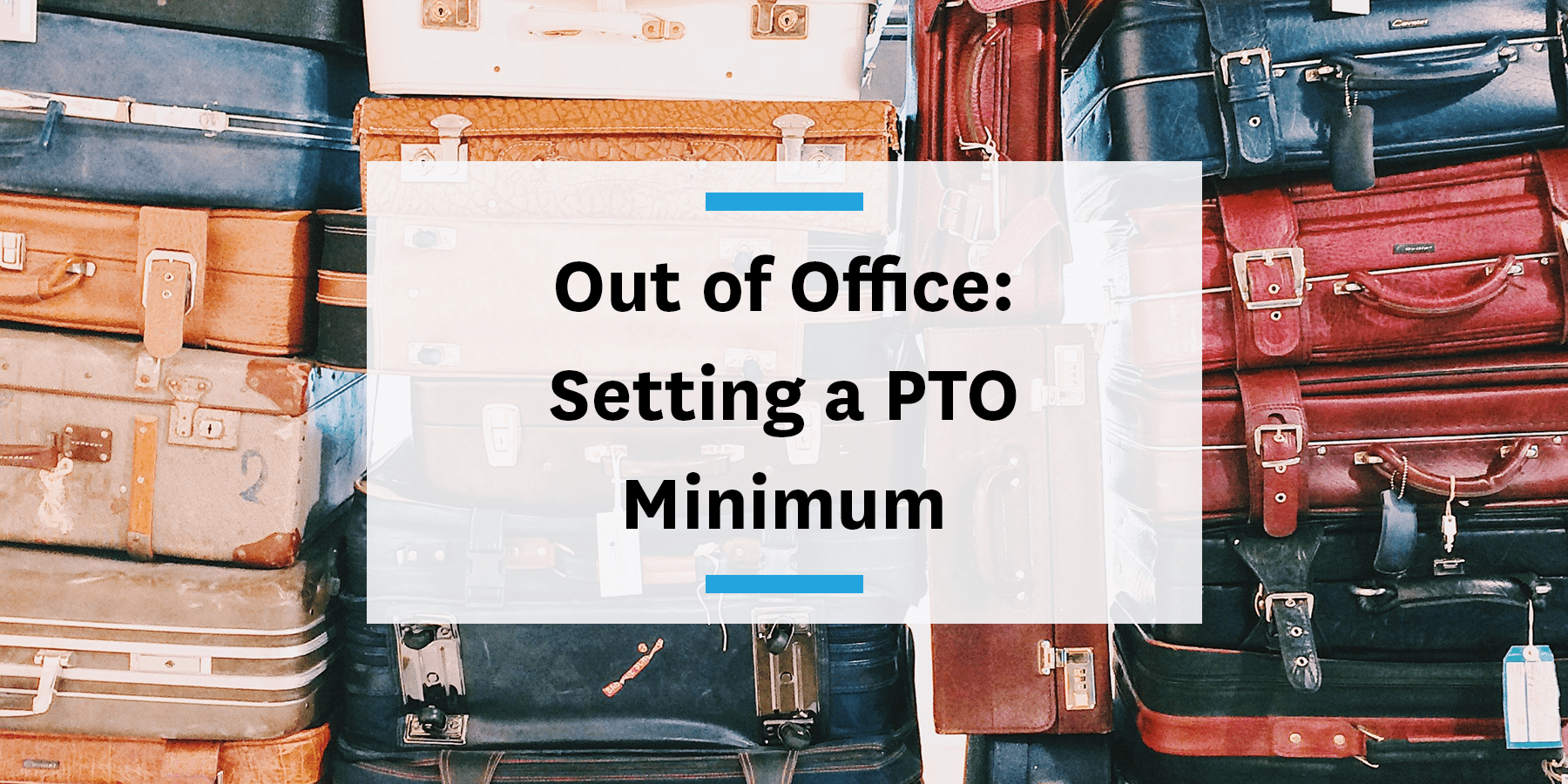 Feature image for setting a minimum number of PTO days