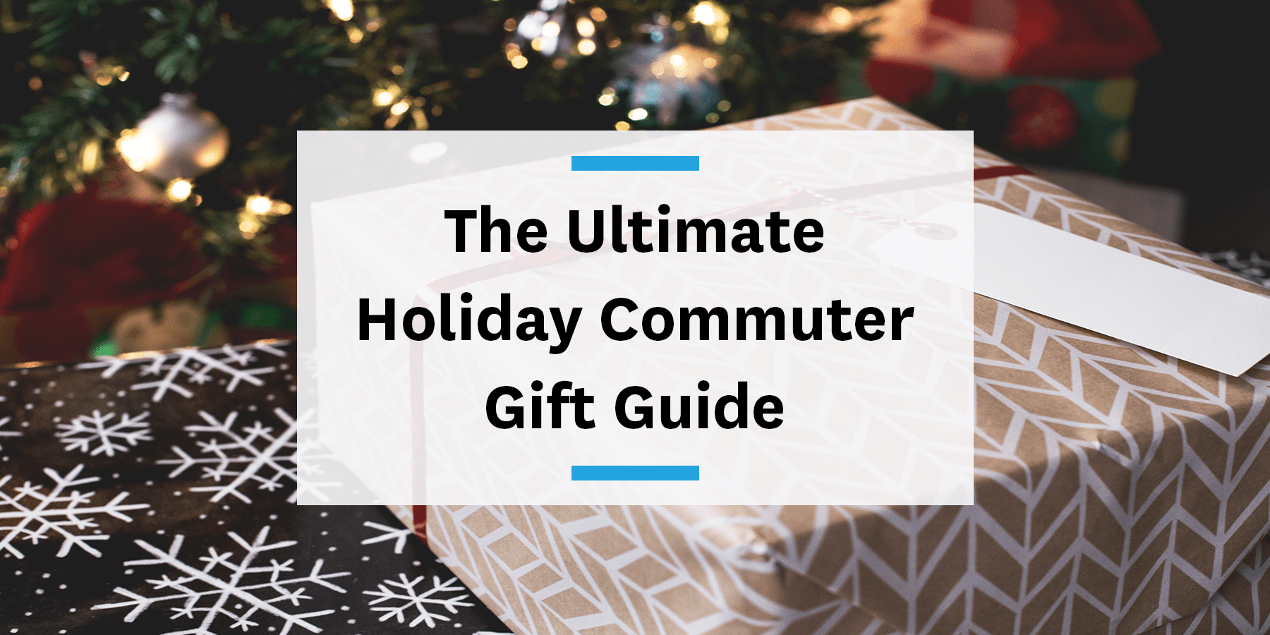 Feature image for commuter gift guide