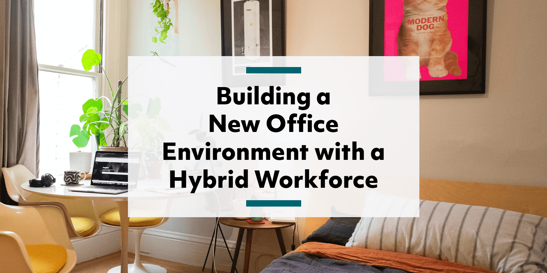 Feature image for building a new workplace environment with a hybrid workforce