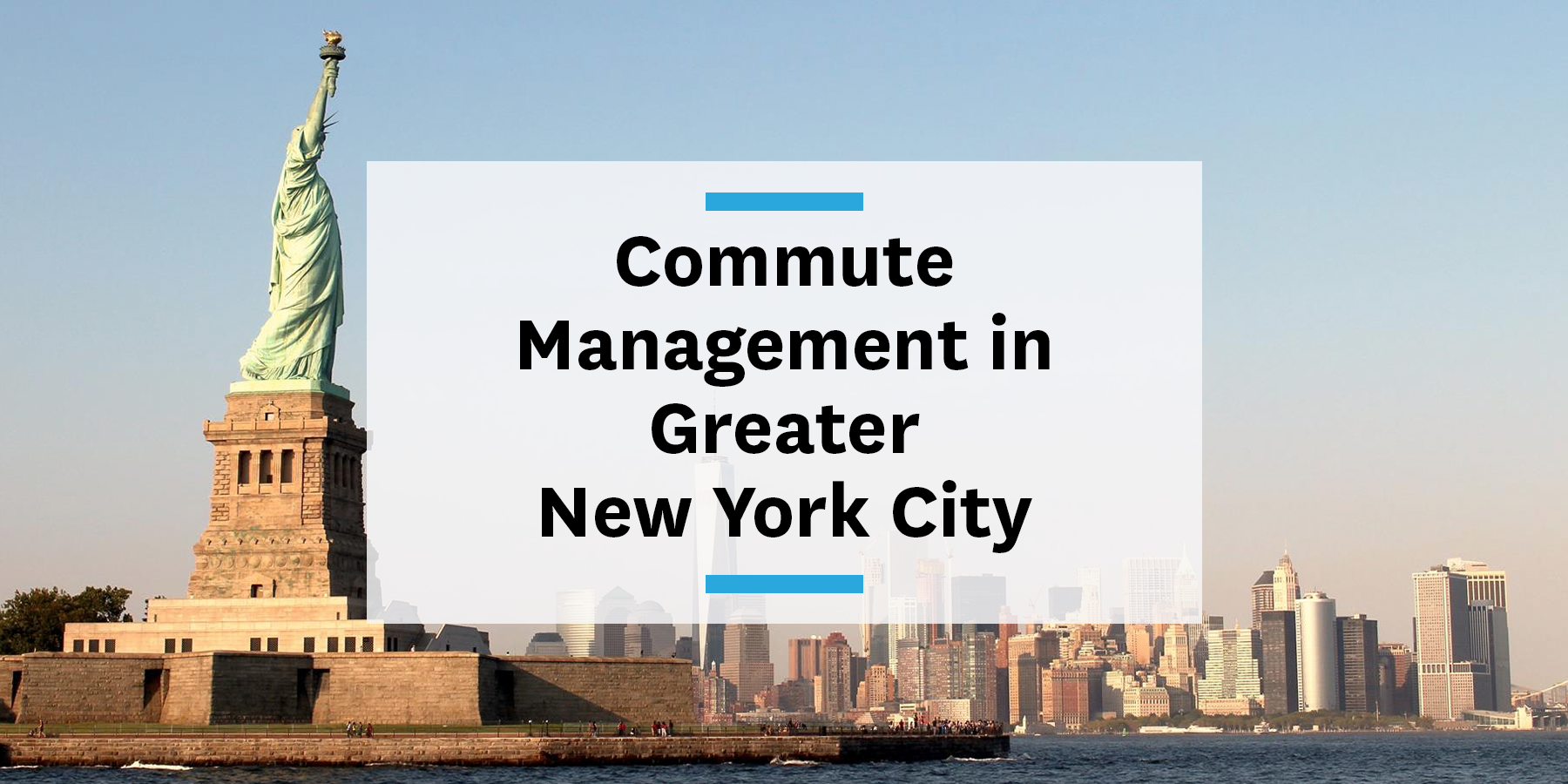 Feature image for building a commute management strategy in greater New York City