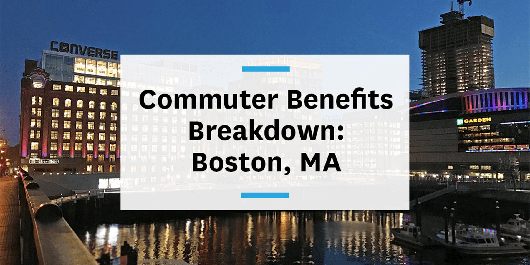 Feature image for commuter benefits Boston