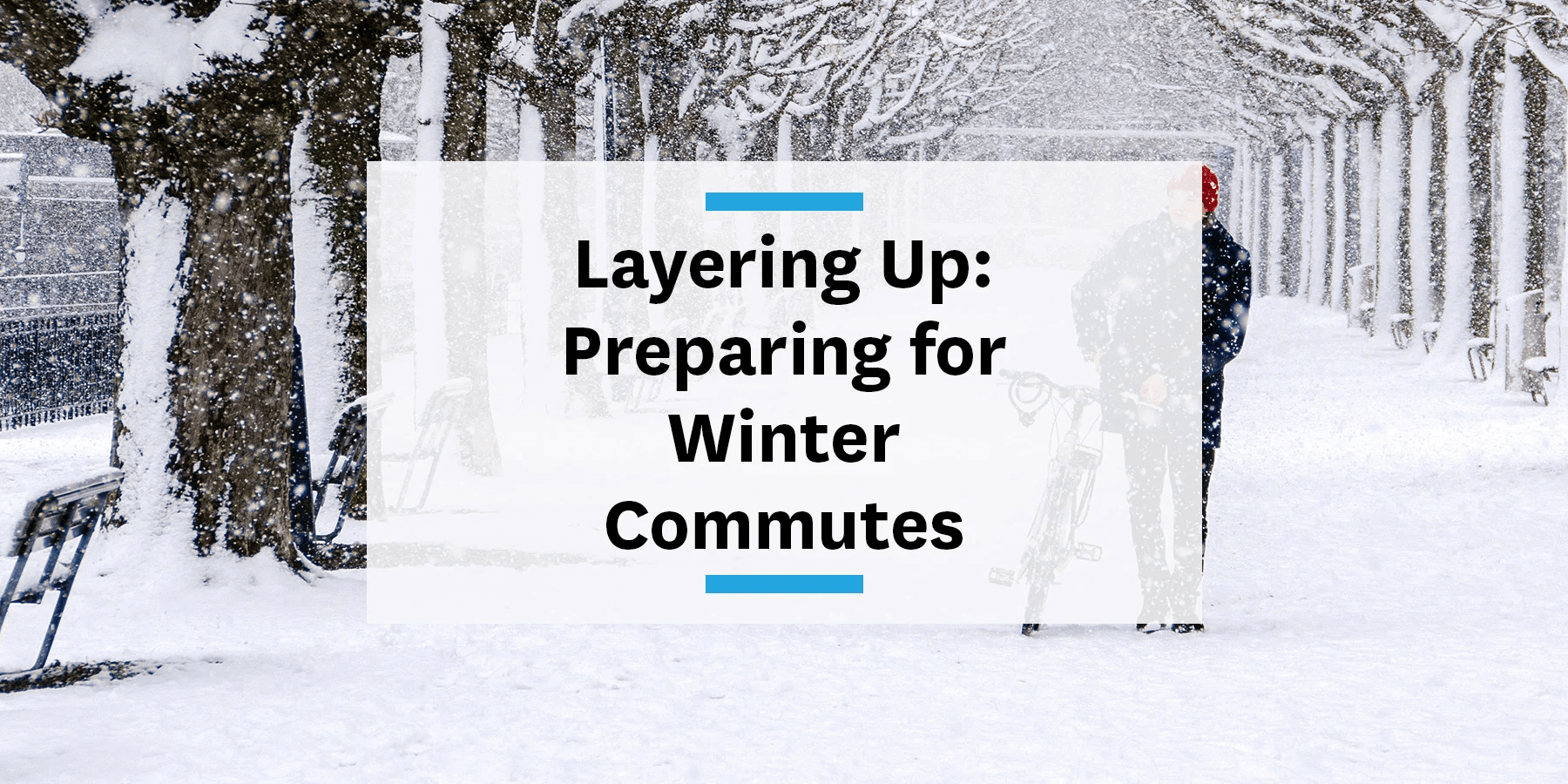 Feature image for preparing for winter commutes