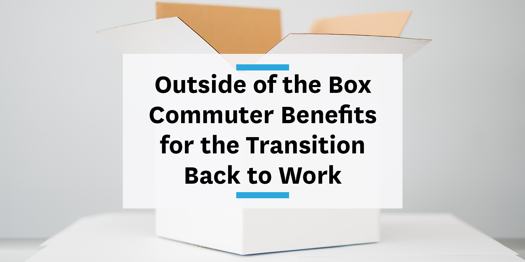 Feature image for outside-of-the-box commuter benefits for the return to the office