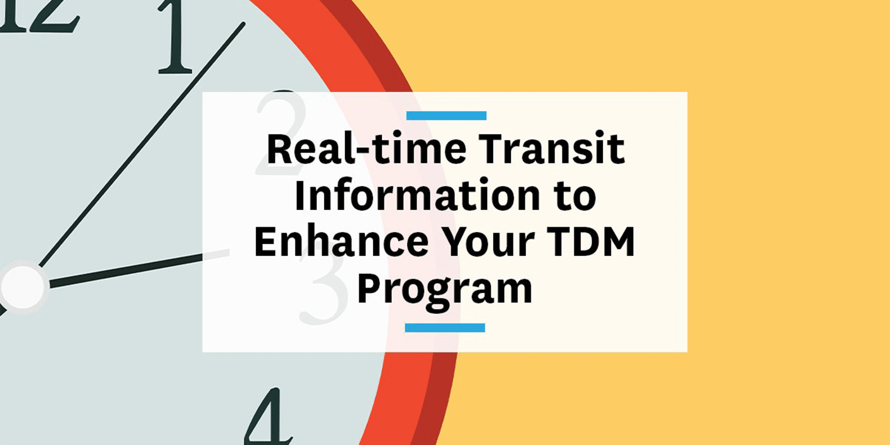 Feature image for real-time transit information in your TDM program