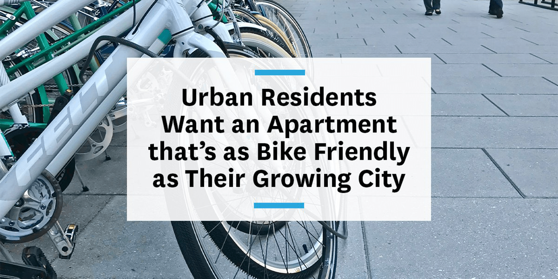 Feature image for residents want a bike-friendly apartment building