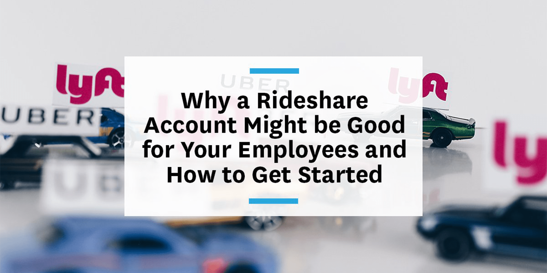 Feature image for setting up a corporate ridehailing account for your employees