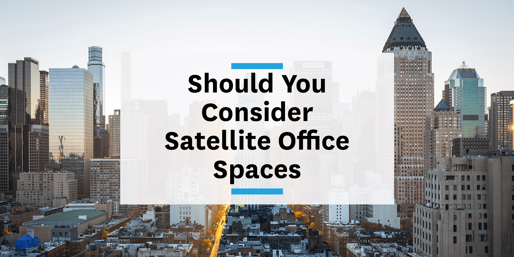 Feature image for considering satellite office spaces